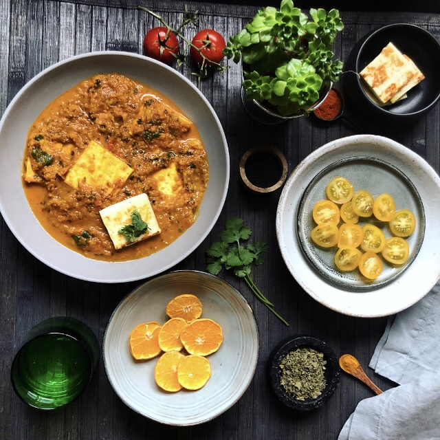 Recipe for Shahi Paneer Made Without Milk