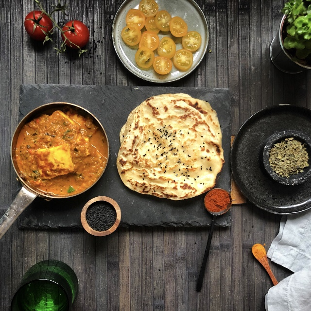 Recipe for Shahi Paneer Without Naan