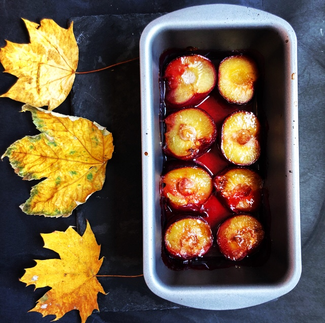 Recipe for Making Poached Plums