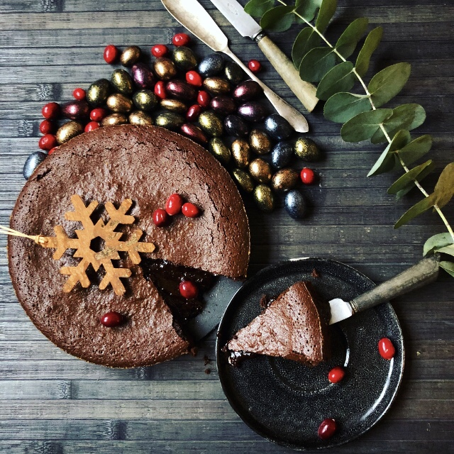 Recipe for Chocolate Cake - Swedish Kladdkaka
