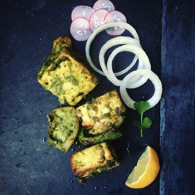 Recipe for making paneer tikka