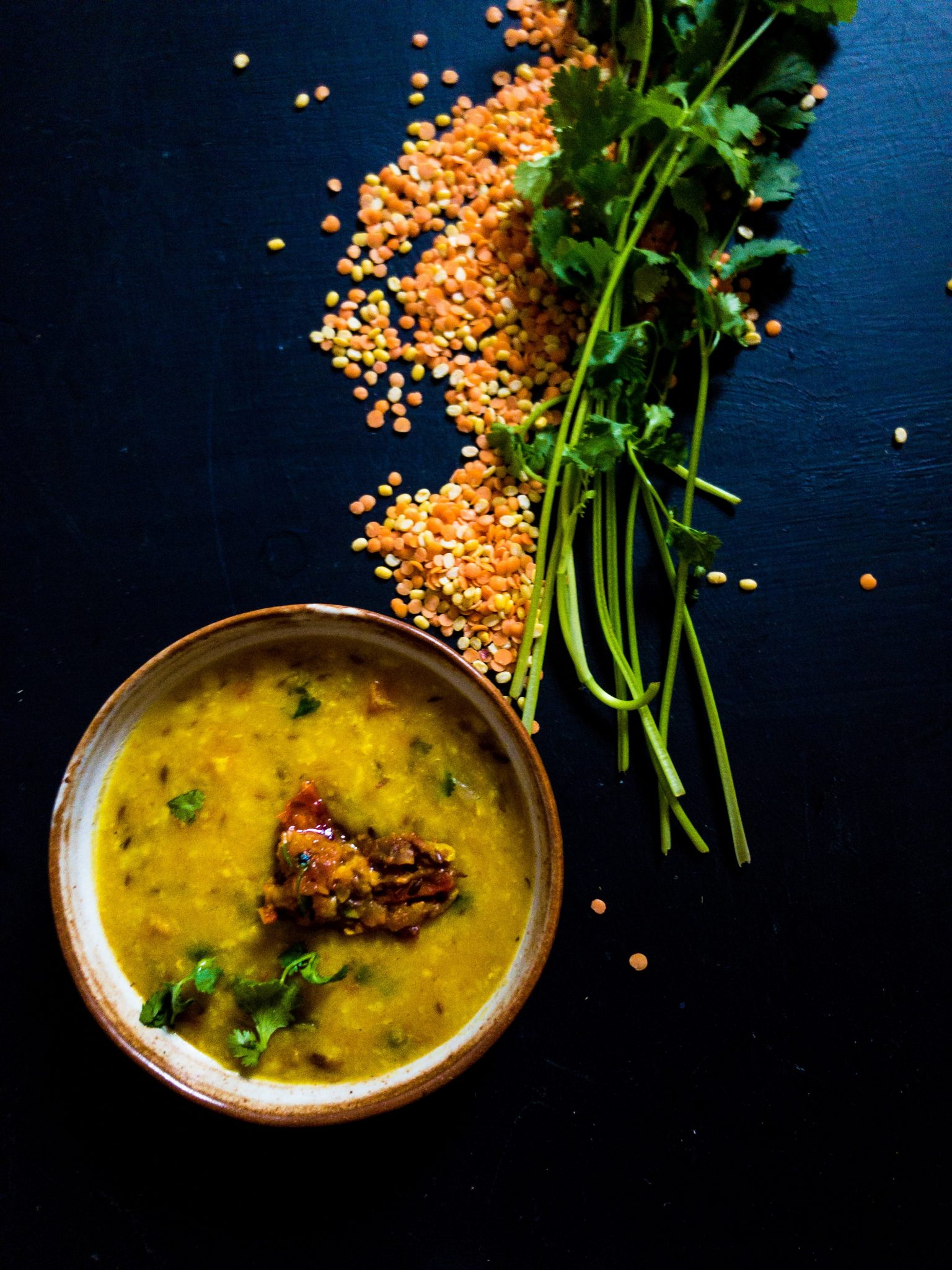 Recipe for Making Yellow Daal