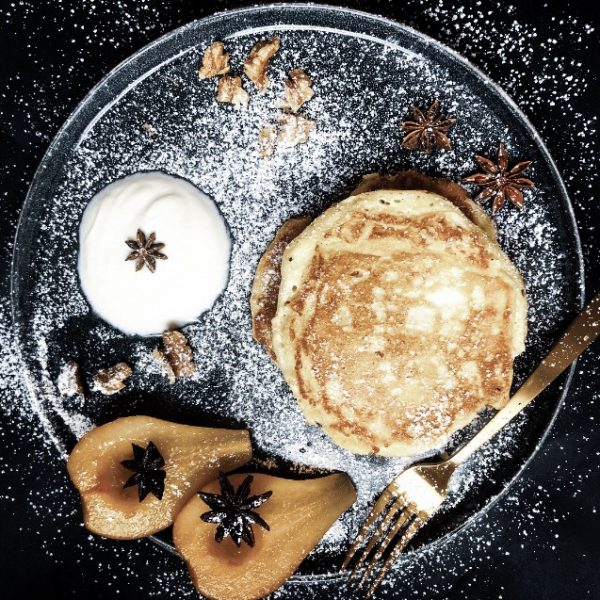 Recipe for Making Ricotta Cheese Pancakes