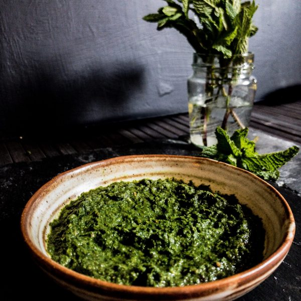 Recipe For Making Mint Chutney