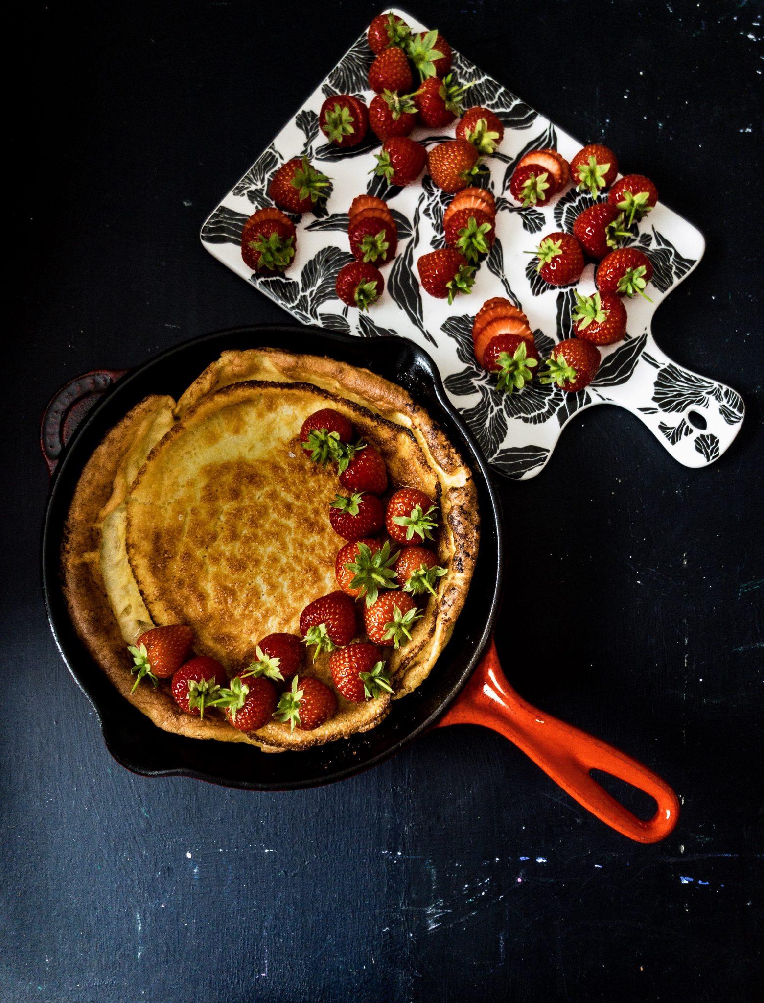 Recipe for making dutch pancakes