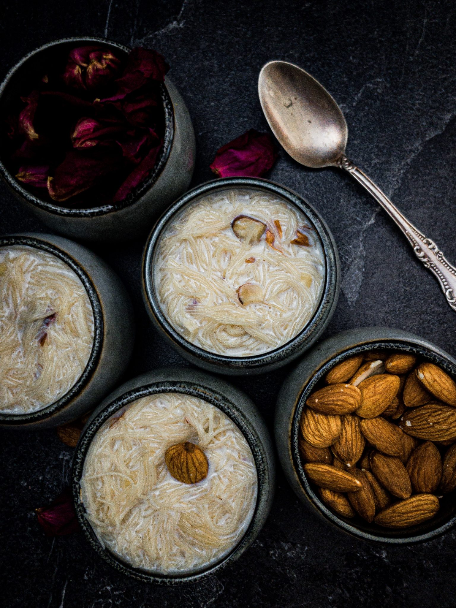 Recipe for Making Vermicelli Noodle Kheer w Milk