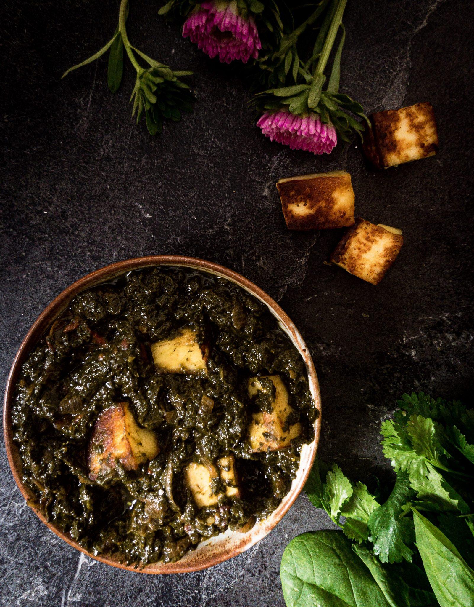 Recipe for Making Palak Paneer