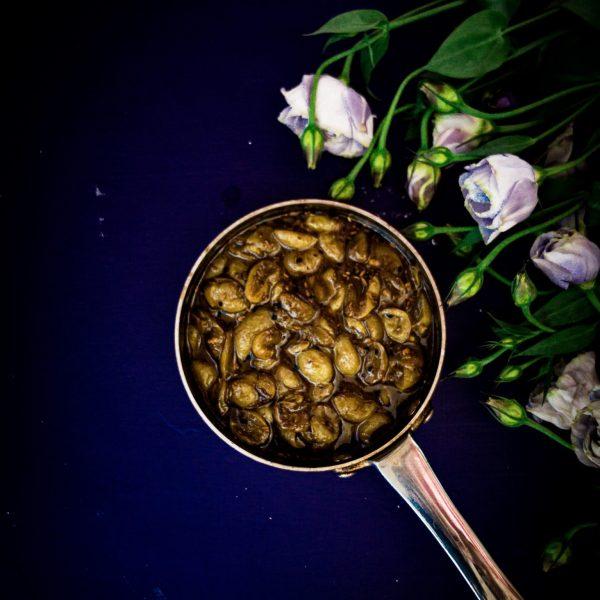 Recipe for making grape chutney