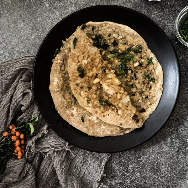 Recipe for making raw papaya paratha
