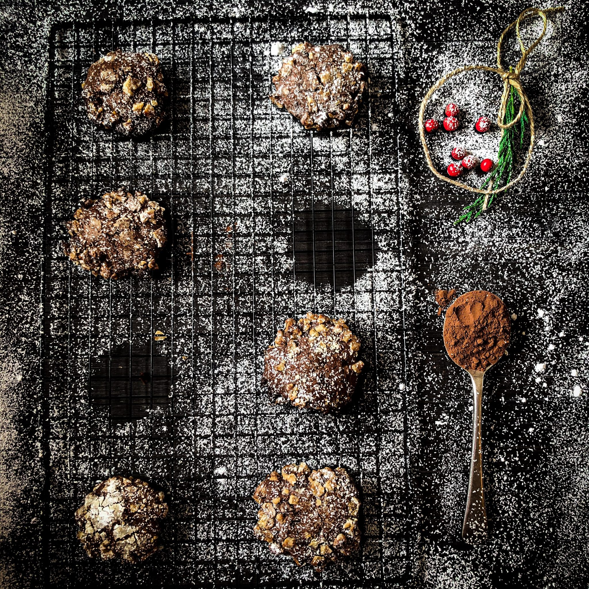 Recipe for making chocolate cookies