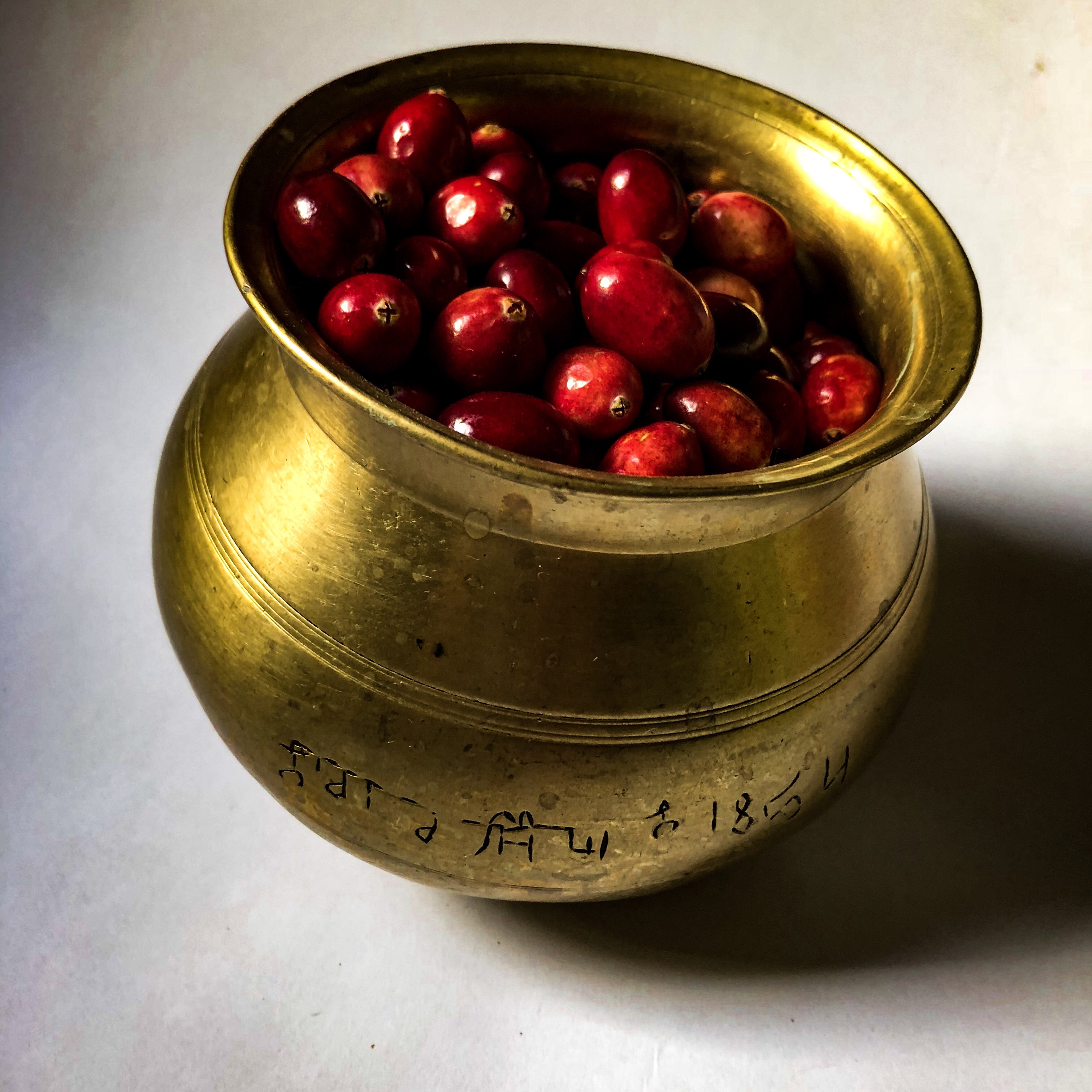 Recipe for making cranberry chutney