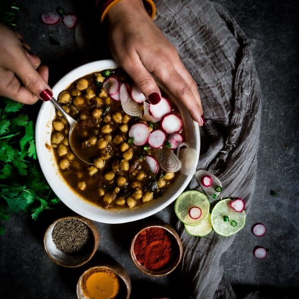 Recipe for making chickpeas