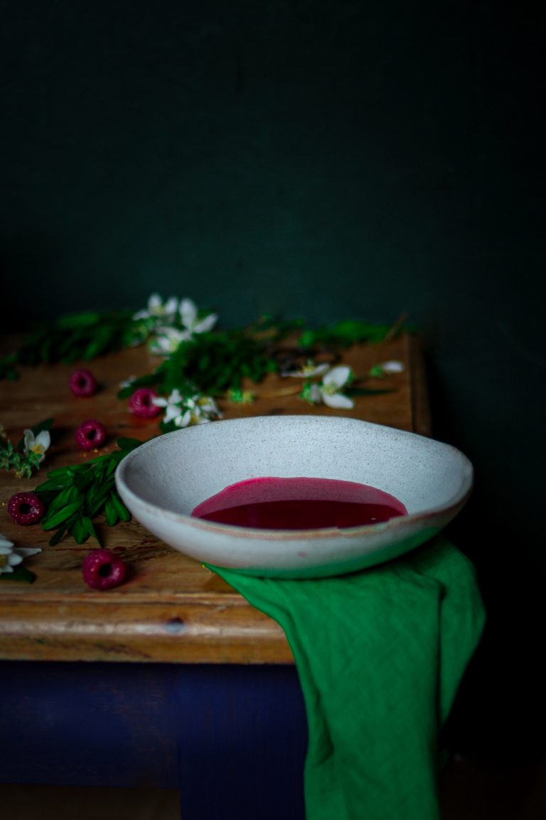Raspberry Consomme