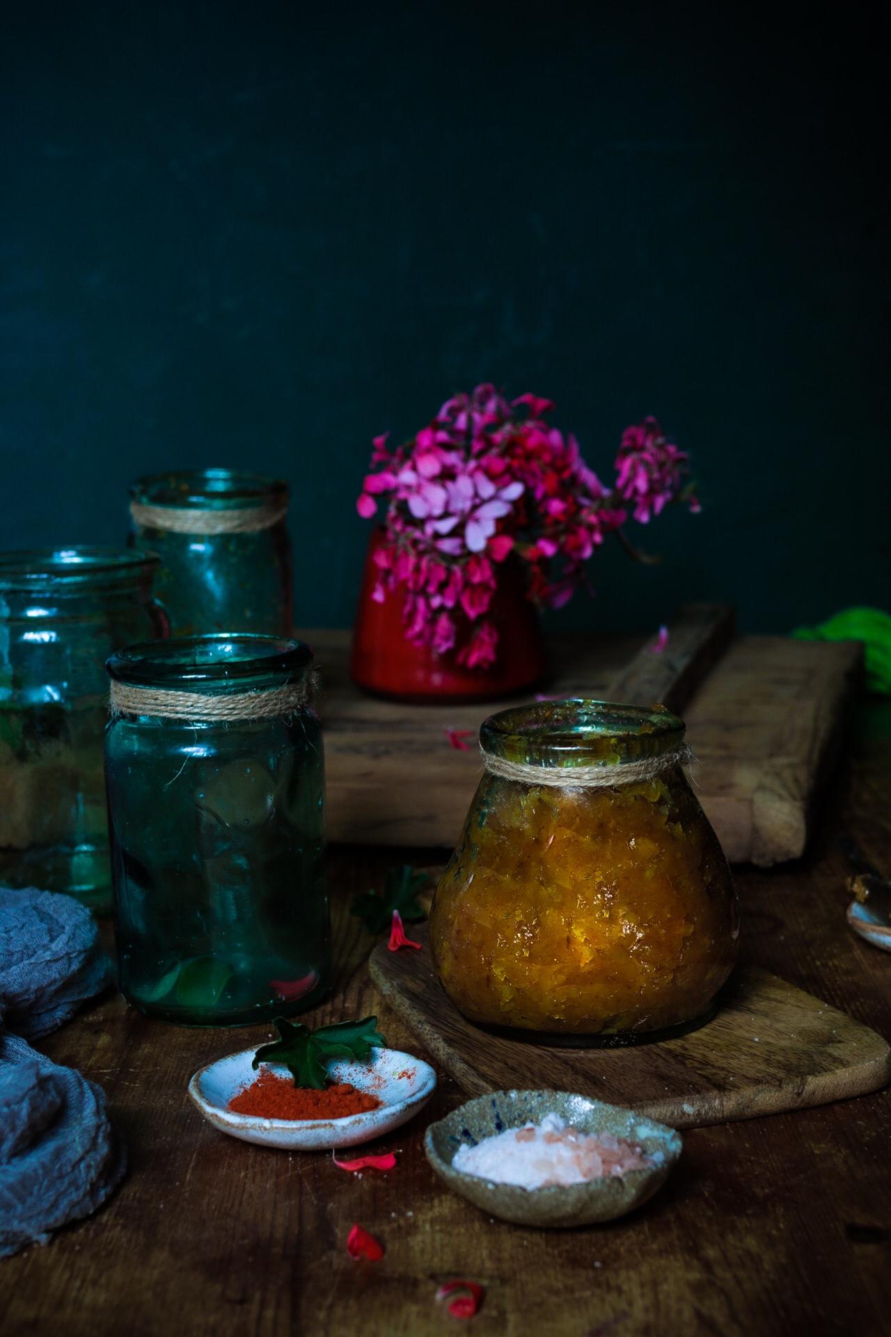 Recipe for mango chutney