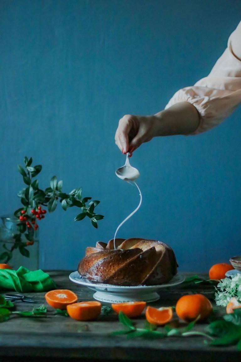 Orange and olive oil cake