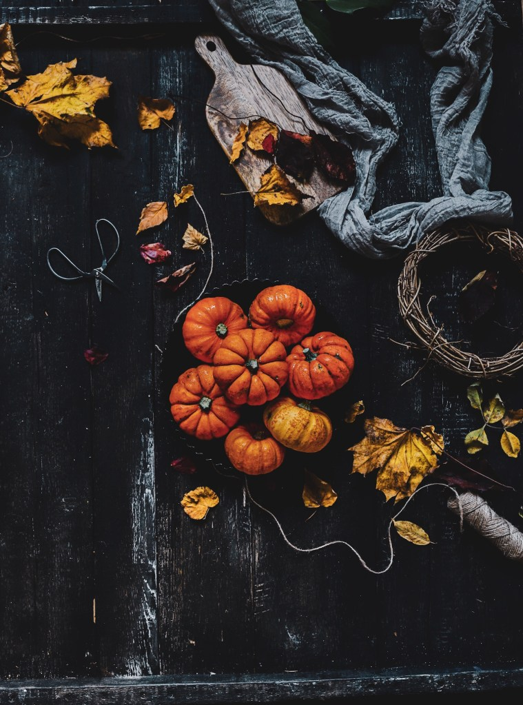 home made pumpkin pie