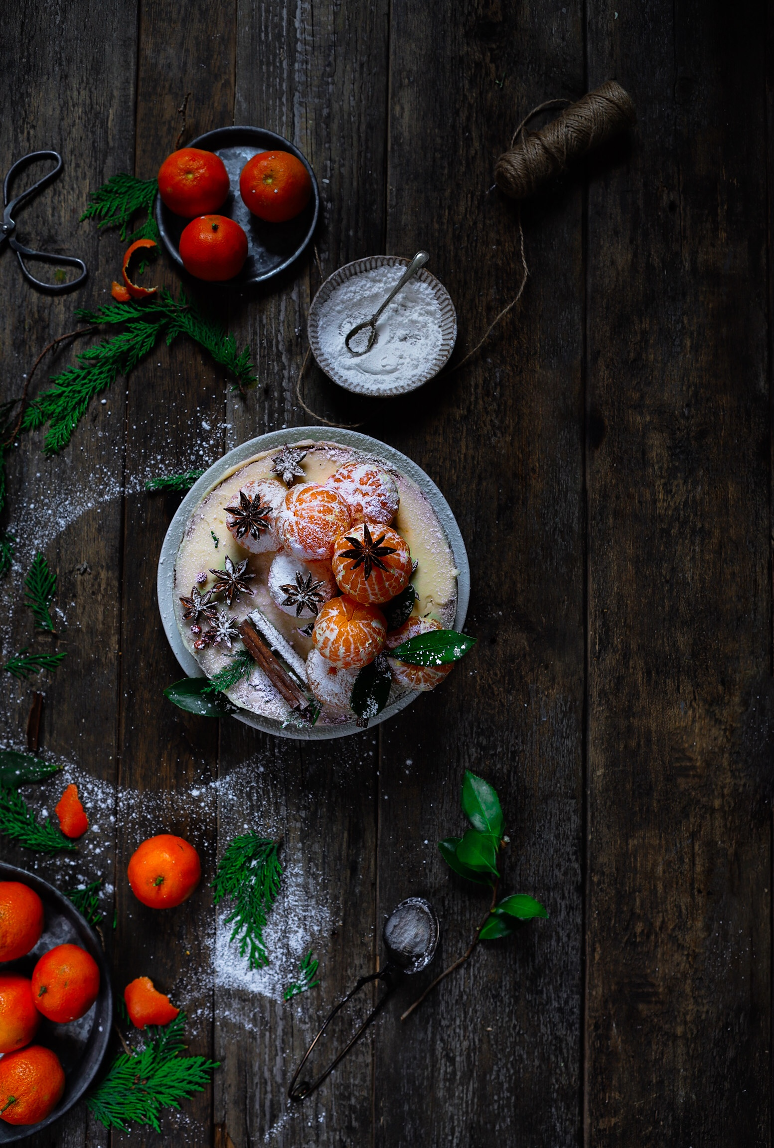 clementine cake with mascarpone frosting