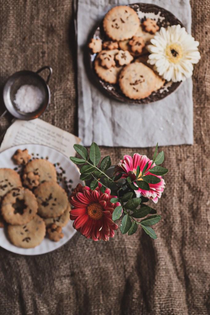 zeera biscuit (cumin seed biscuits)